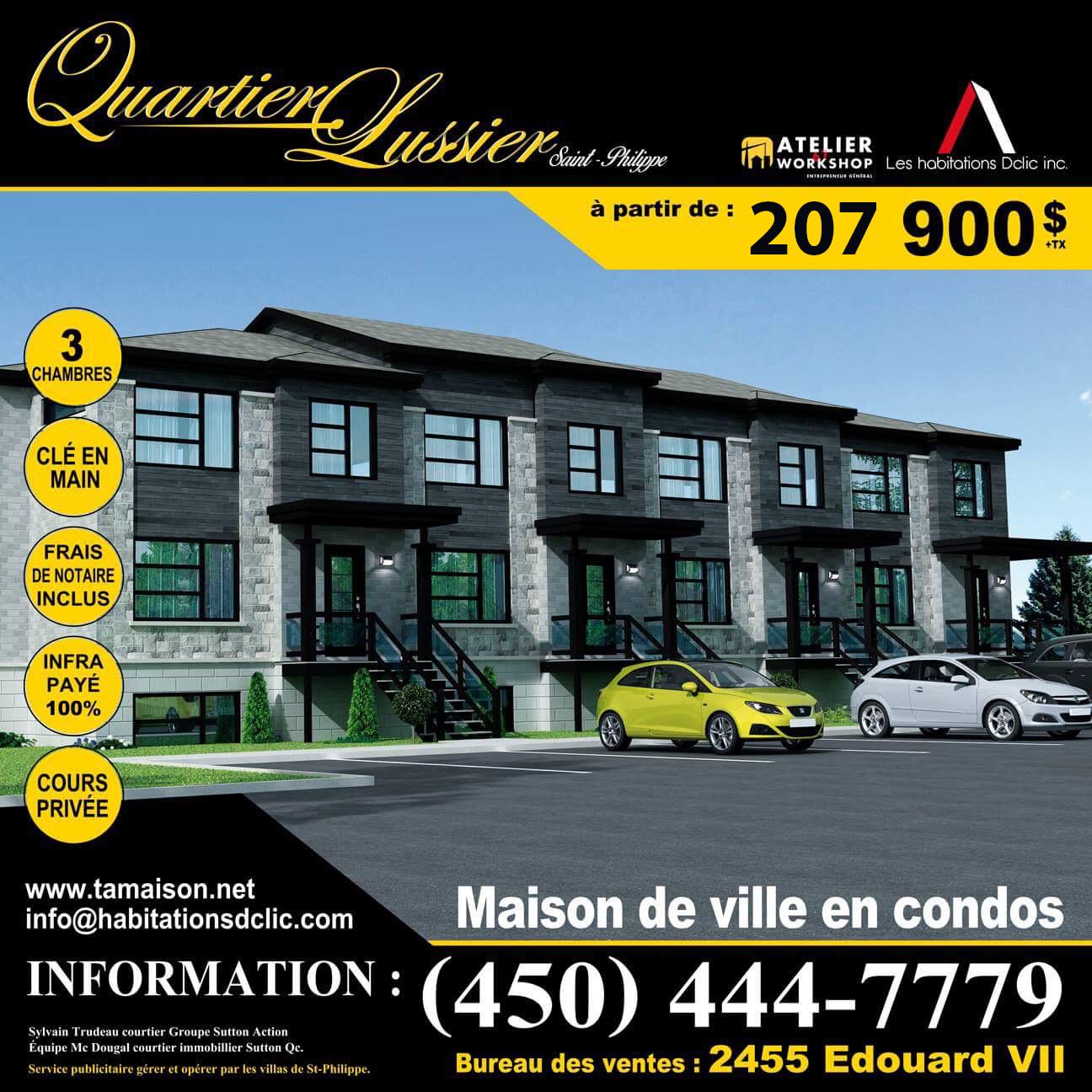 Quartier Lussier Saint-Philippe